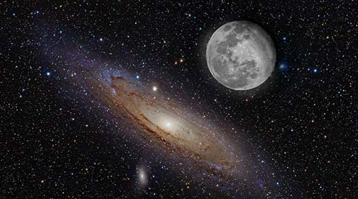 Contactado afirma que nuestra Luna es artificial y fue traída desde otra galaxia
