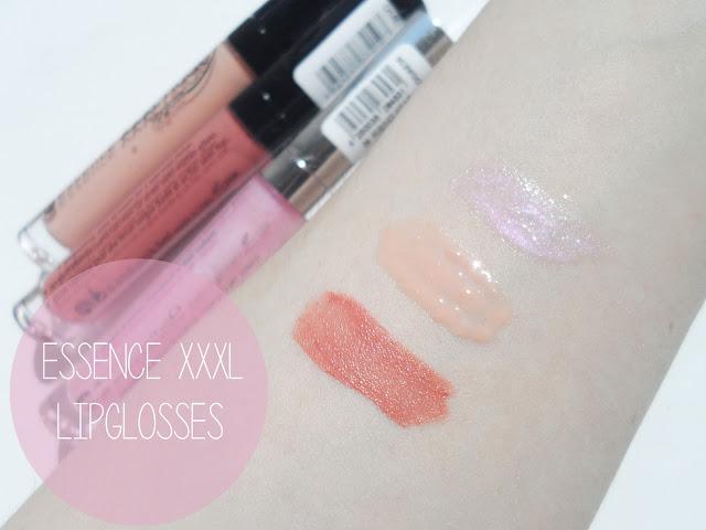 liz breygel Essence Lip Gloss Review Swatches blogger xxxl shine nude loglasting rising star soft nude just nude buy online