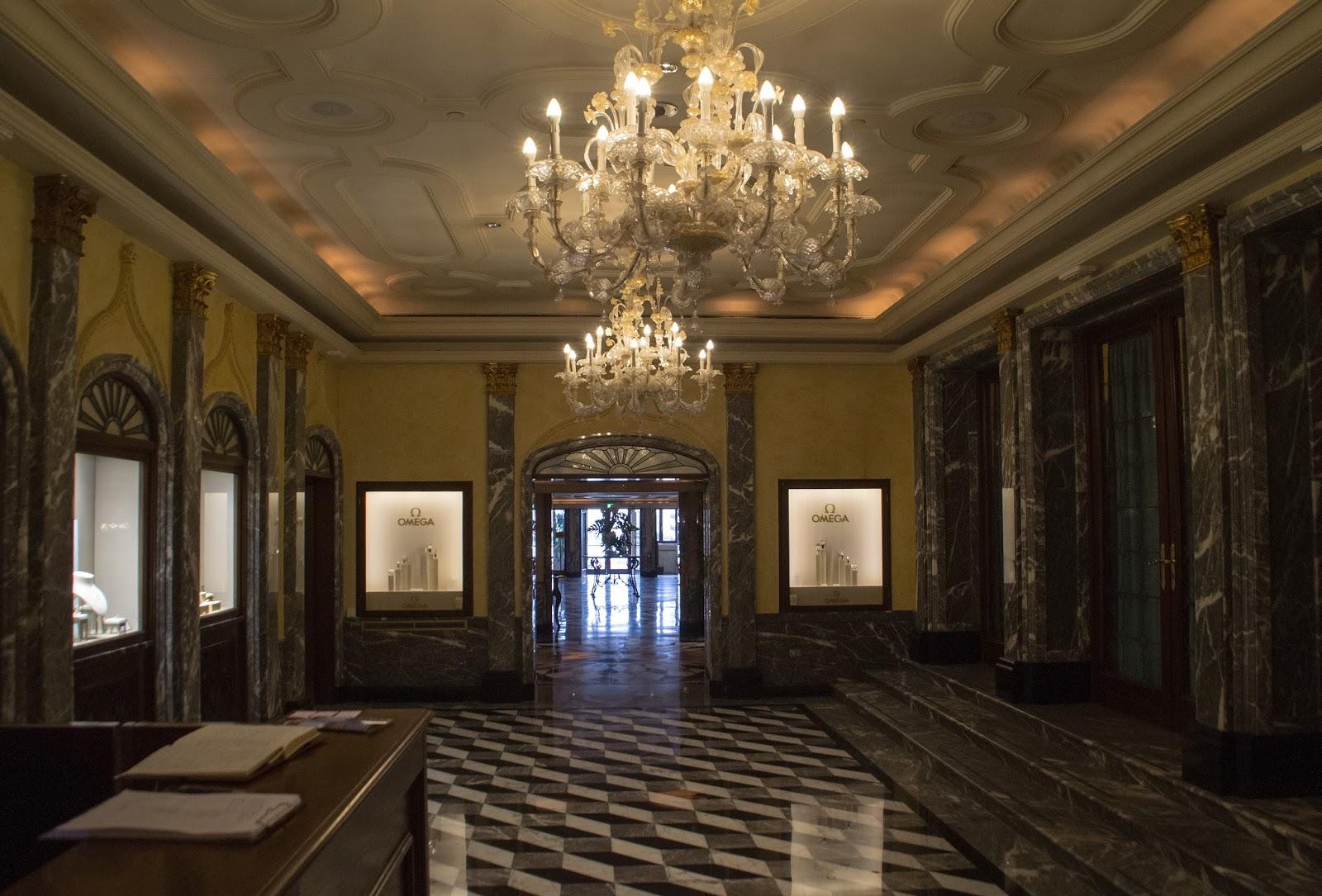 Lobby of Westin Europa & Regina Venice