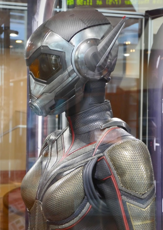 Wasp movie costume detail