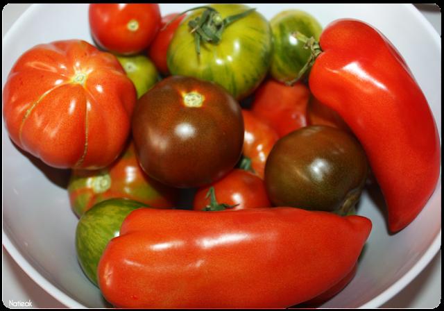 variété de tomates  de  la ferme de Servigny