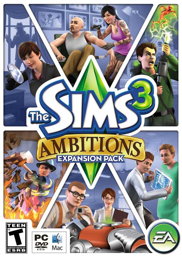 The-Sims-3-Ambitions-Download-Cover-Free-Game