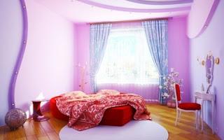 dormitorio lila adolescente