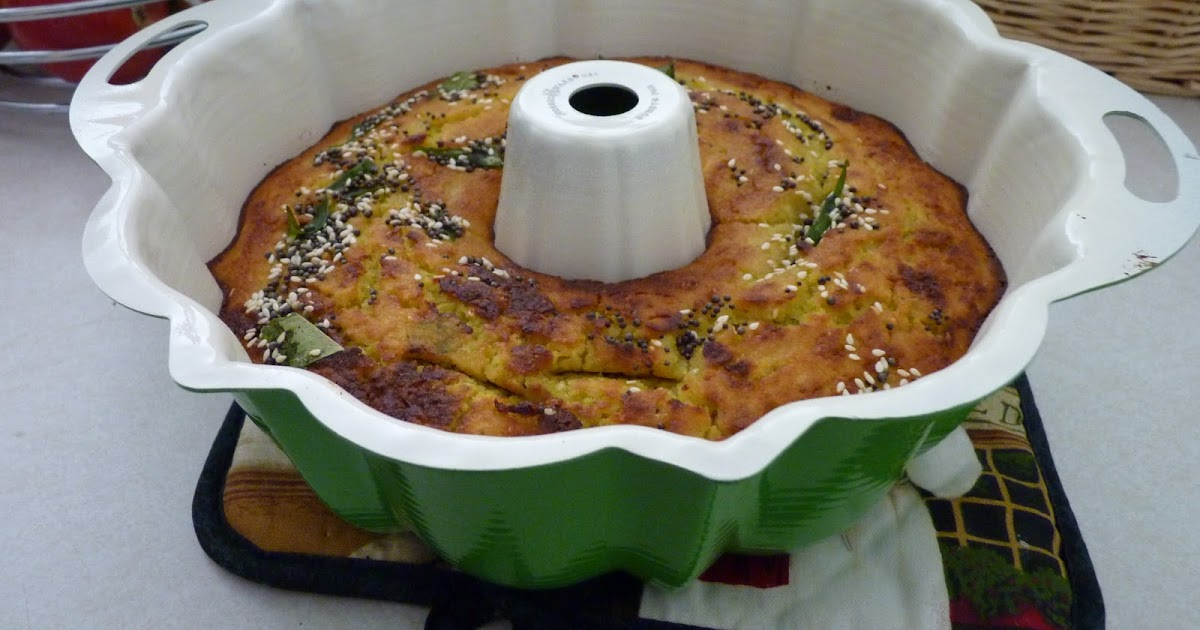 Indian Savory Cake Lentil Flour Recipes
