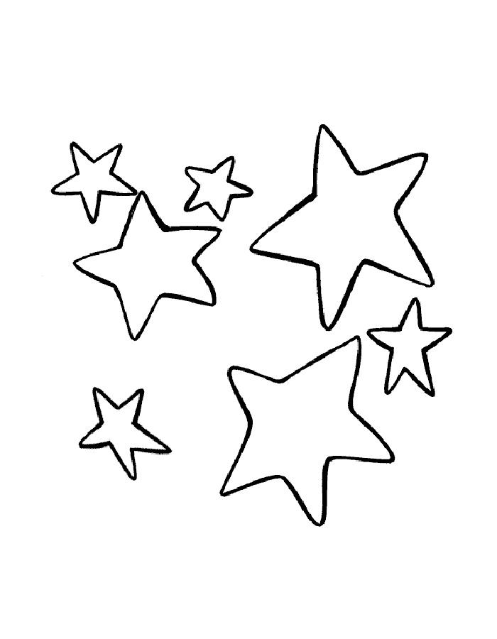 Bintang Mewarnai Gambar Bulan Wwwimagenesmicom