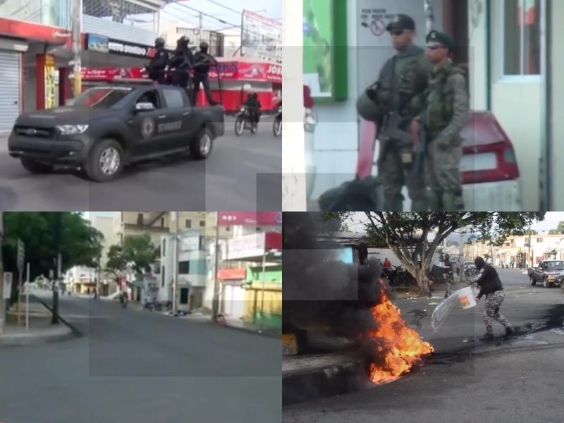 Videos: Así va la huelga en San Francisco de Macorís