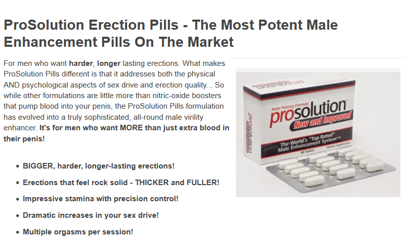 Pills to make my penis bigger