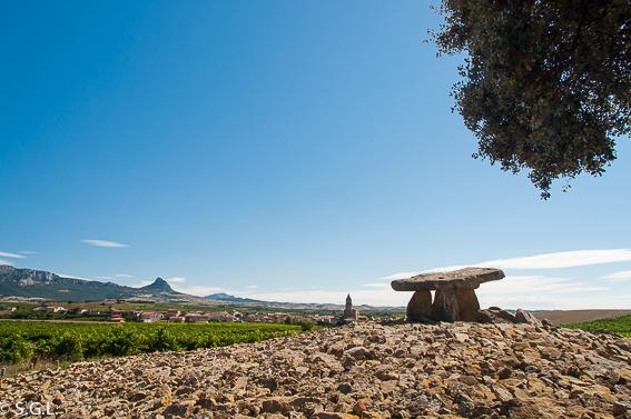 El Dolmen de La chabola de la hechicera. La Rioja alavesa