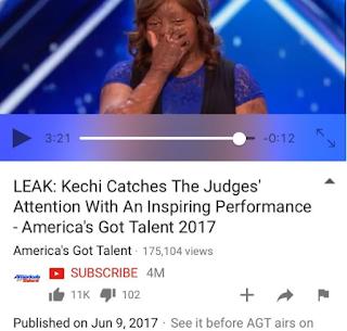 sosliso plane crash survivor, kechi Okwuchi, makes it to the second round of america's got talent
