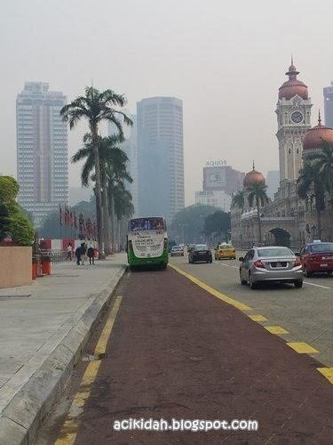 Jerebu Di Kuala Lumpur Pagi Ini.