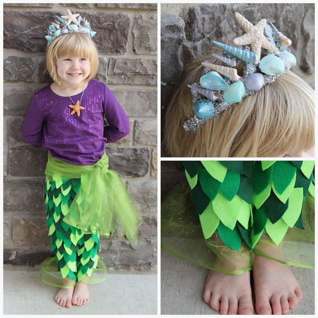 How to make a diy mermaid crown with seashells creative green living mermaid crown seashell crown mermaid tiara diy mermaid crown costume solutioingenieria Choice Image