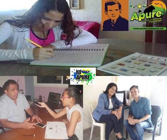 Escuela de Periodismo Edward Murrow de Senderos de Apure arrancó con 3 pasantes de Ecos-UBA Apure.  Venezuela.