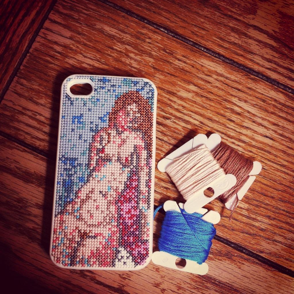 new arrivals 36234 28824 HelloHorizon: iPhone Modigliani Cross Stitch case