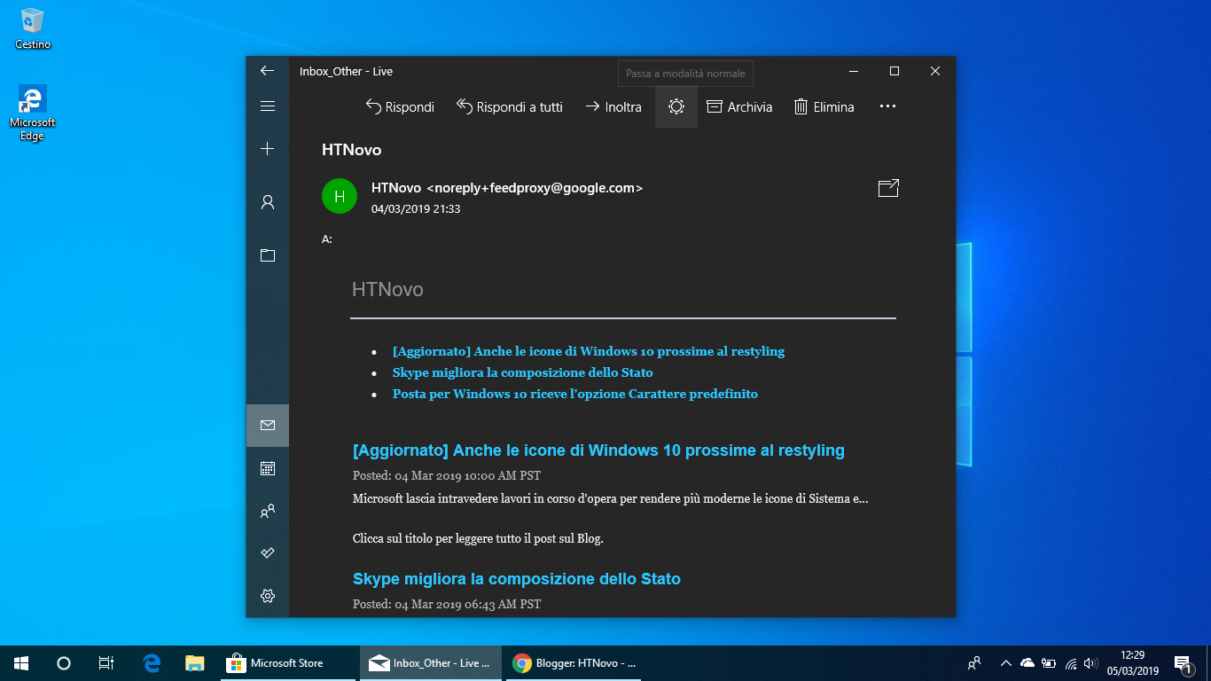 Posta-windows-10-tema-scuro-completo