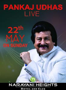 Book Pankaj Udhas event ticket Ahmedabad