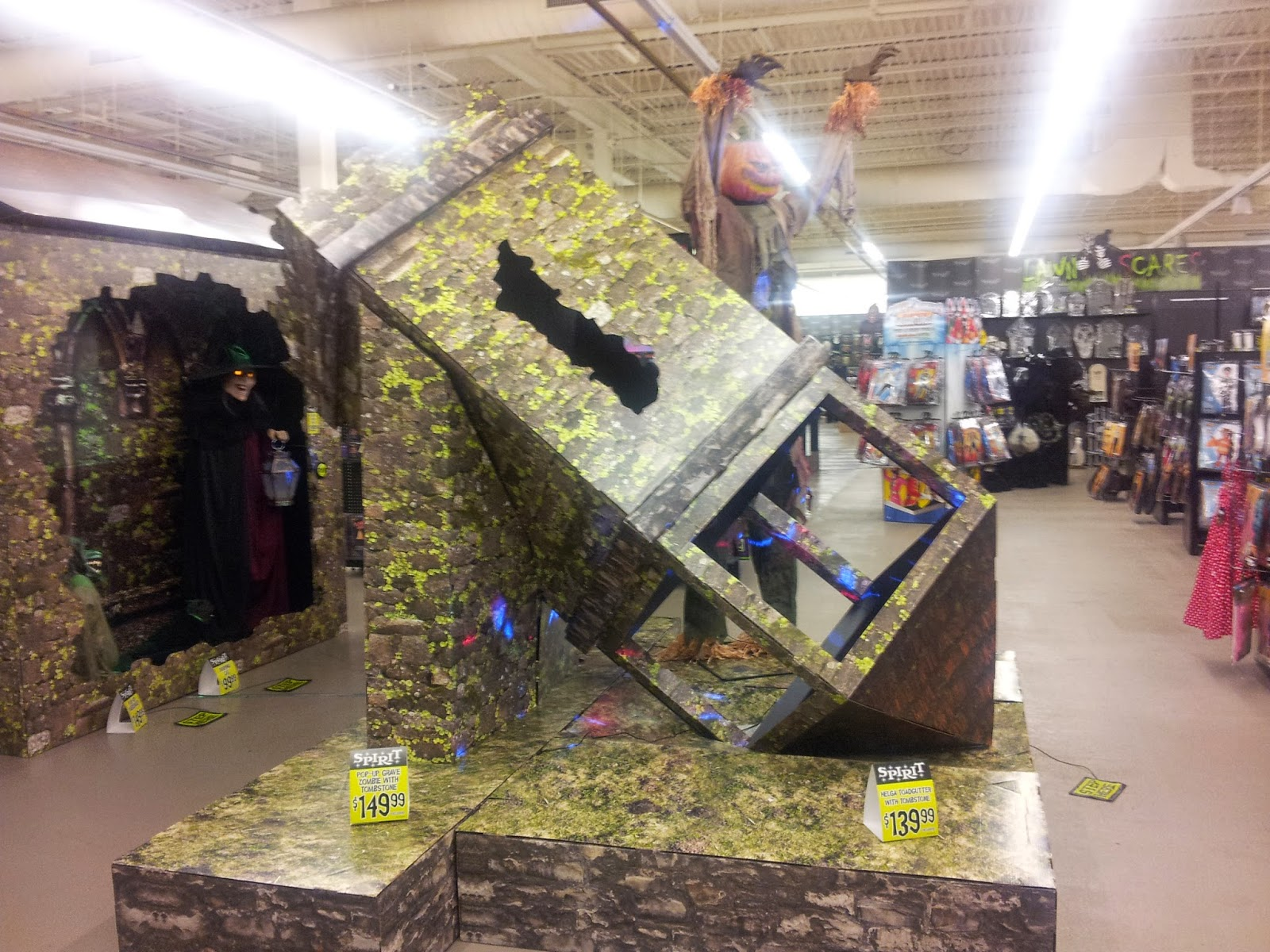 The misadventures of the halloweenut spirit halloween for Michaels craft store erie pa