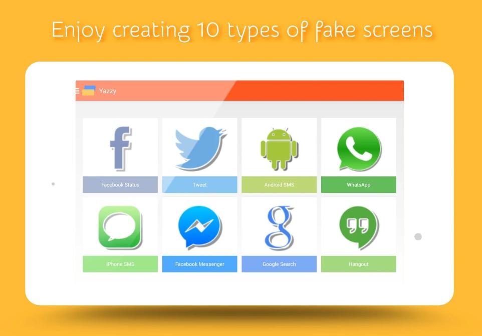 Yazzy the best app to create fake screenshots   TWK