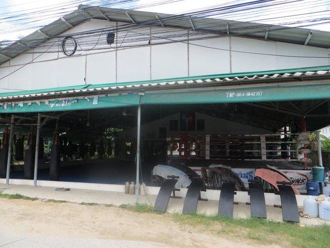 Спортзал тайского бокса на Ламаи