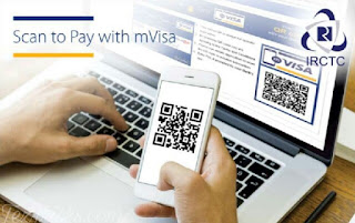 IRCTC mVisa Offer – Get Rs 100  cashback on Train tickets when you pay with mVisa