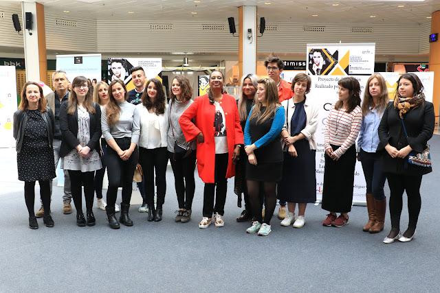 Participantes en el certamen de jóvenes diseñadores vascos