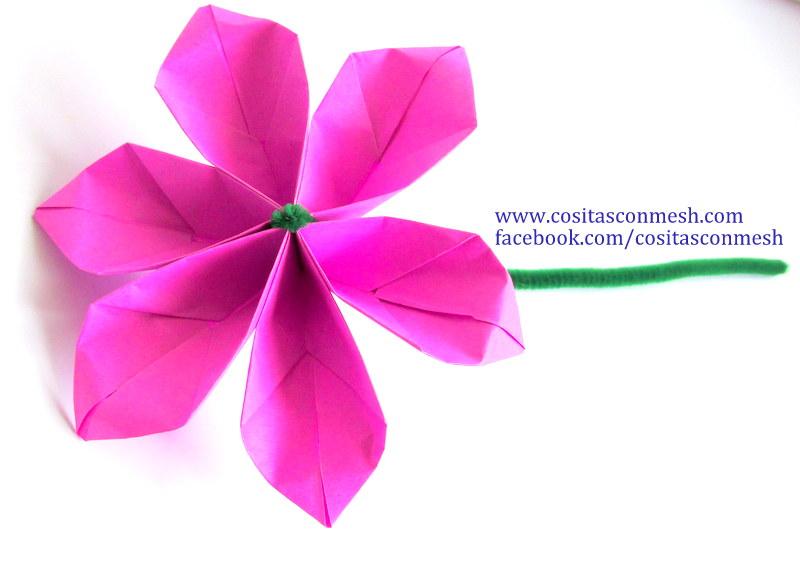 Tutorial Fácil Para Hacer Hermosas Flores De Papel En 3
