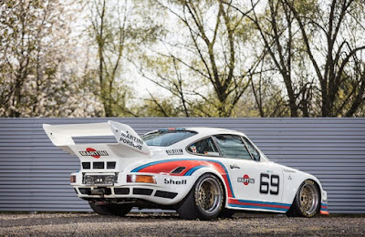 1976 Porsche 934 5 Racing Car Rear Right