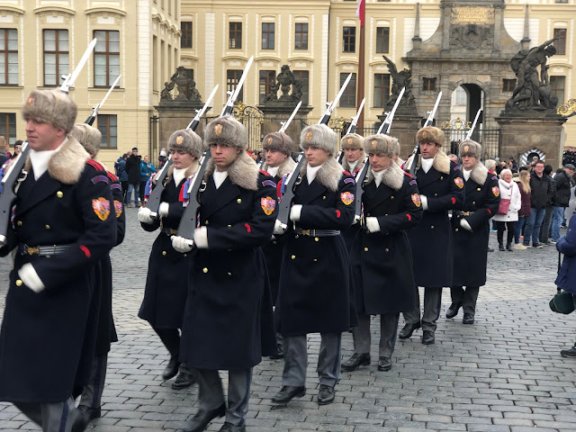 Prague Castle Changing of the Guard