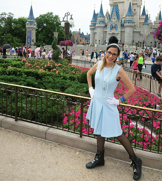 Cinderella Outfit / Disneybound- Spring Dapper Day at Disney World 2016