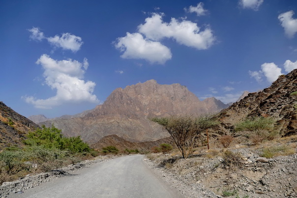 Oman, Berge, Landschaft, karg, Roadtrip