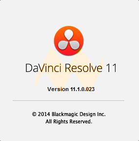 DaVinci Resolve 11.1 Full Crack