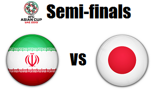 iran versus japan