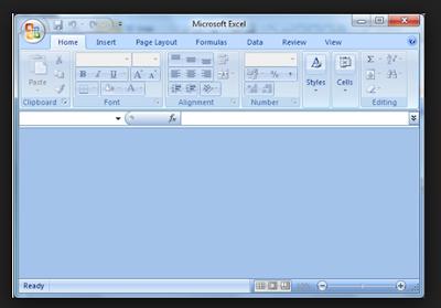 Cara Mengatasi Excel 2007 Blank Saat Buka File Tertentu