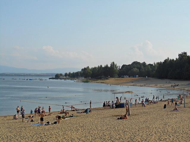 piasek, jezioro, Nysa, Skorochów