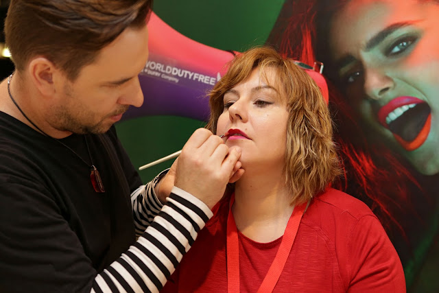petr blecha  make up artist Lancôme master class