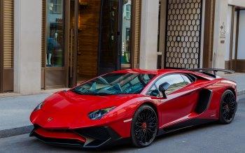 Wallpaper: Lamborghini Aventador 2015