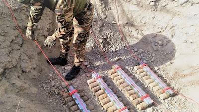 Τάγμα Εκκαθάρισης Ναρκοπεδίων: Εντοπίστηκαν 13 νάρκες, 106 βλήματα, 42 χειροβομβίδες