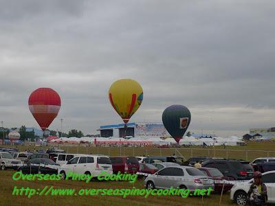 Hot Air Ballon Ready to Take Fly