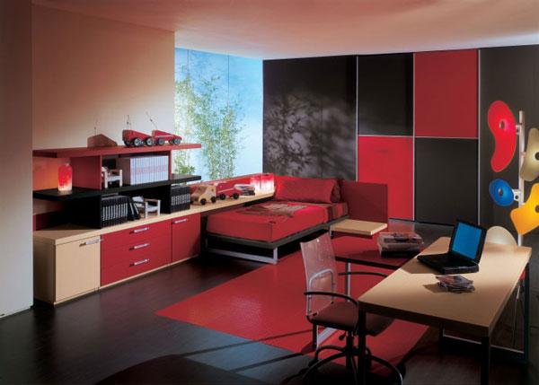 Hogares Frescos: Decora Tu Habitación Con Colores Rojos Y