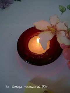 modellare il fiore per sospeso trasparente