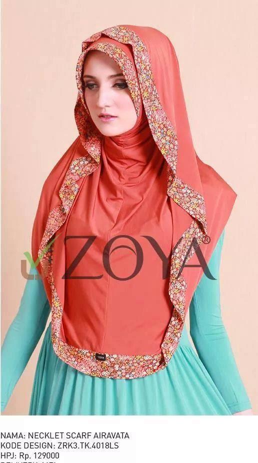 Baju Muslim Zoya Edisi Lebaran 2015 Gamis Murni