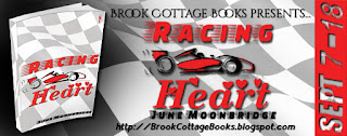 French Village Diaries book review Racing Heart June Moonbridge Brook Cottage Book tours