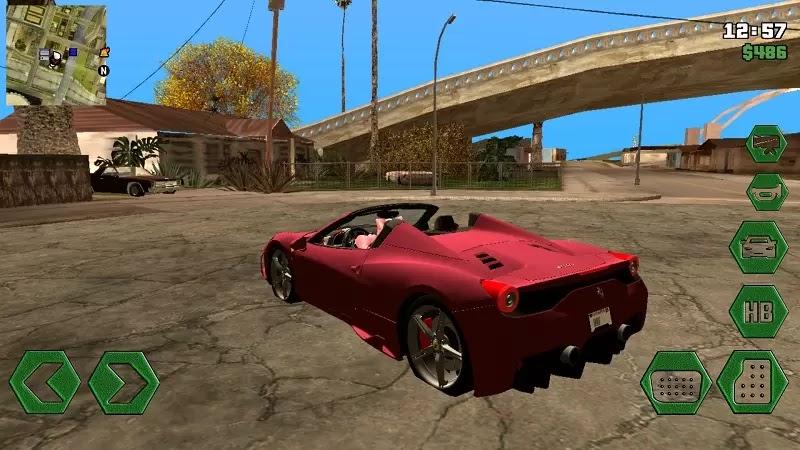 Mod Car Drift Gta Sa Android Dff Only GTA SA ANDROID Drift and
