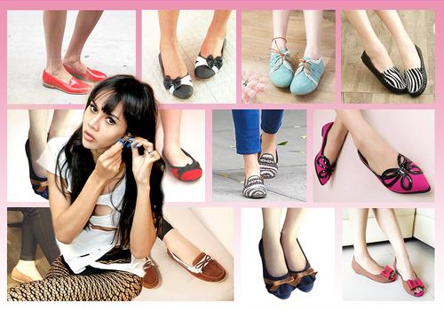 Memilih Sepatu Wanita Hak Datar
