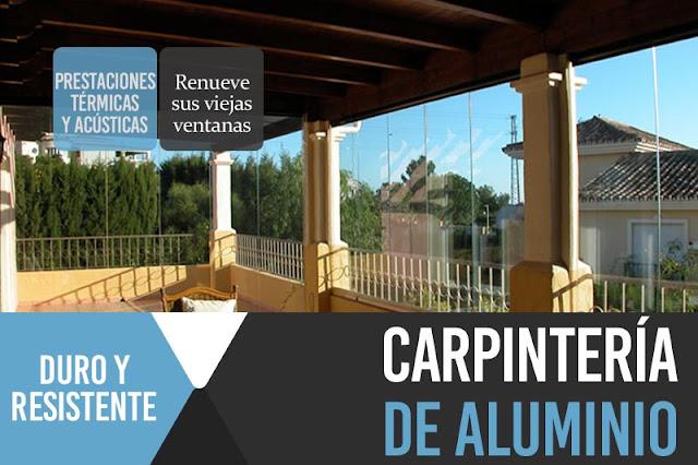 Carpinter a de aluminio en la manga del mar menor - Carpinteria de aluminio en murcia ...