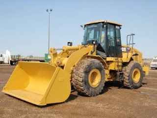 Wheel loader CAT - 950H (Posisi: PT.GGB - Lahat)