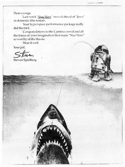 letter from steven spielberg to george lucas