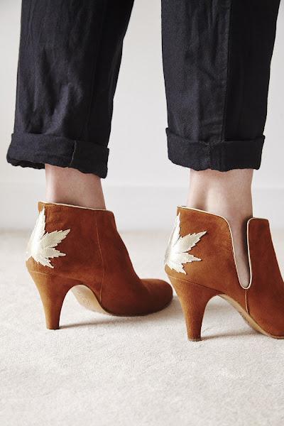Boots Patricia Blanchet Kaktus caramel