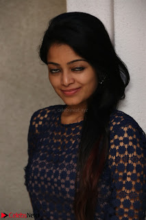 Dazzling Janani Iyer New pics in blue transparent dress spicy Pics 002.jpg