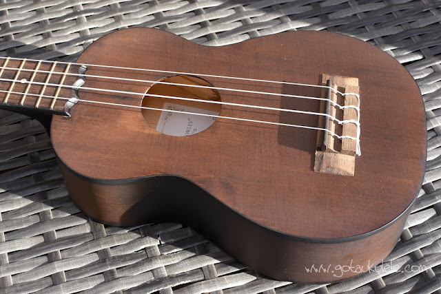 Barnes and Mullins Bowley Ukulele top