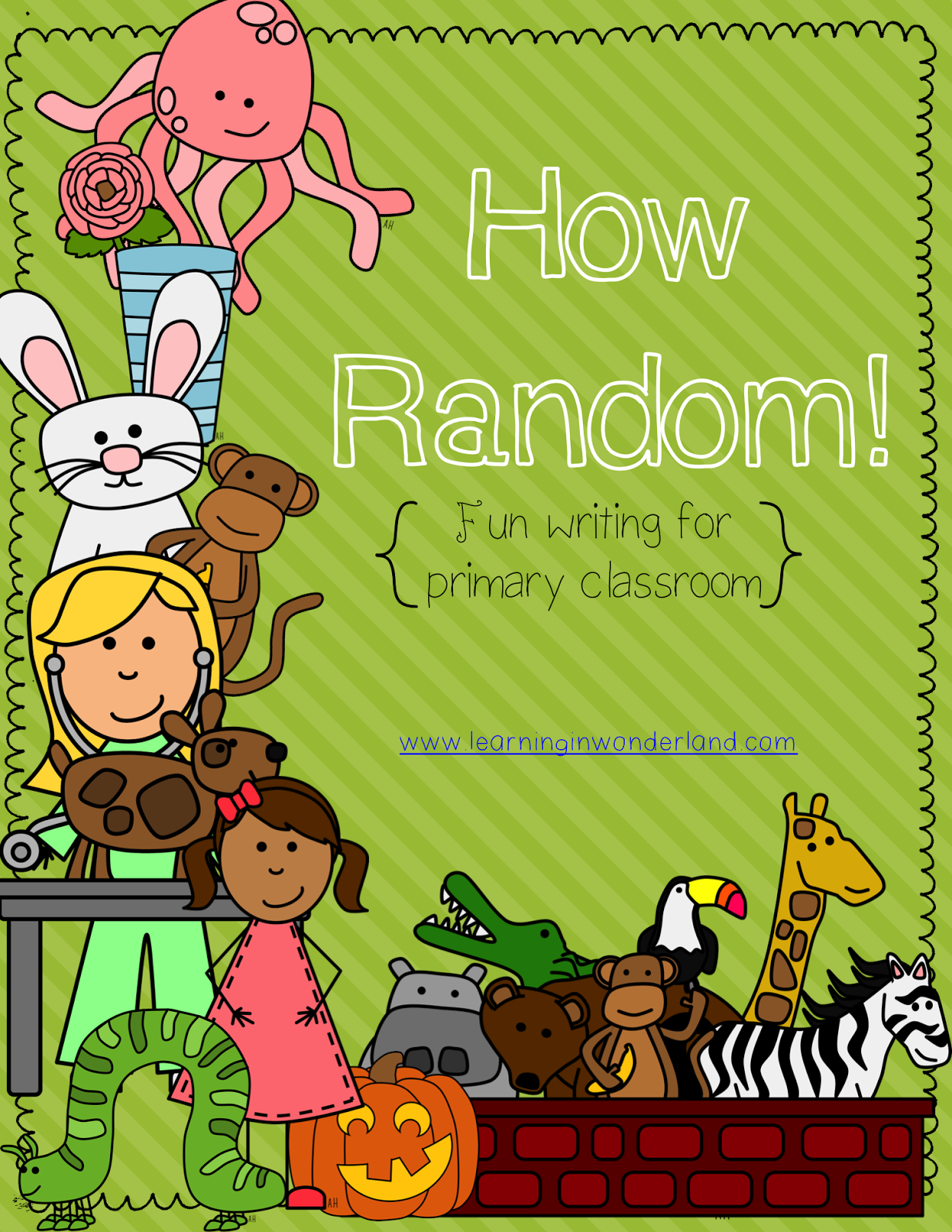 http://www.teacherspayteachers.com/Product/How-Random-Fun-Writing-for-the-Primary-Classroom--924509